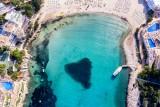 Blue heart of Ibiza