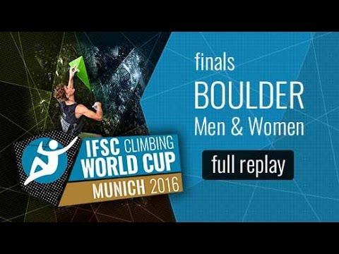 IFSC Climbing World Cup Munich 2016 – Bouldering