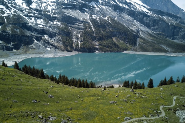 UNESCO region of Oeschinensee (Suisse)
