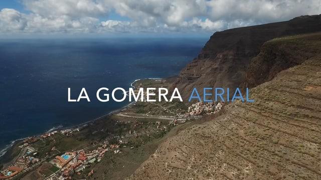 La Gomera Aerial
