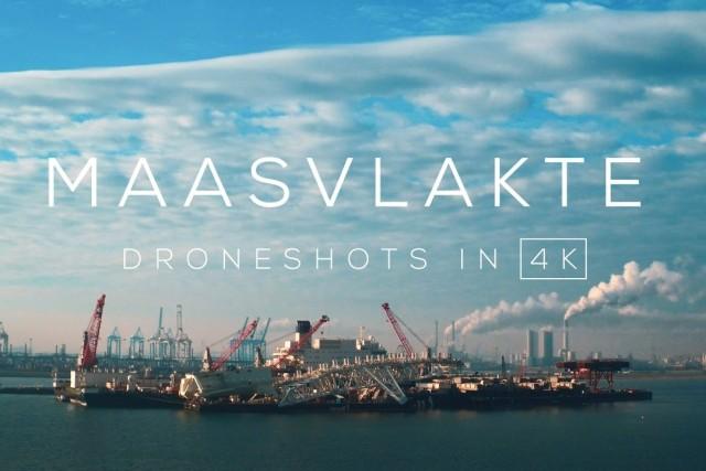 Maasvlakte / Europoort in 4K | Drone video
