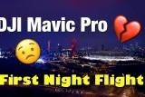 Mavic Pro Night Footage, Stratford London