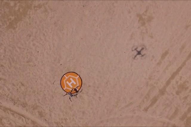 MAVIC's amazing landing