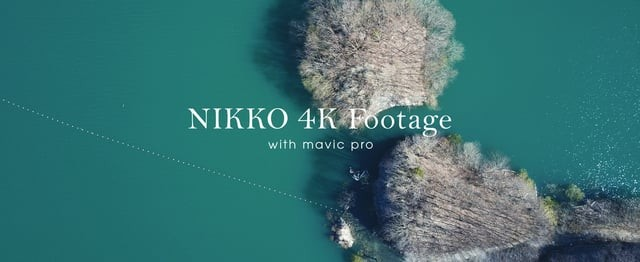 NIKKO 4K Footage   with Mavic Pro
