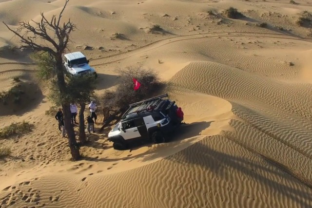 Offroading In UAE