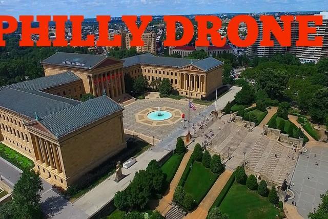 ROCKY STEPS | NE PHILLY DRONE SHOT!!!