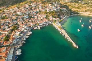 Samos Aerial views from a DJI Phantom 3