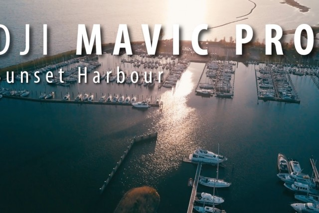 Sunset Harbour – Color graded 4K Mavic