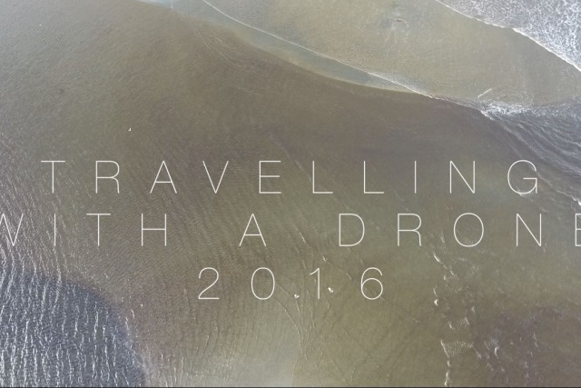 Travel with a drone!
