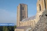 Wymondham Abbey, Norfolk, England – An aerial aspect