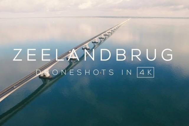 Zeelandbrug (Zierikzee) in 4K | Drone video