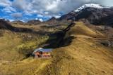 Refugio en la montaña