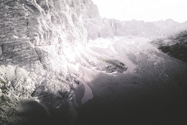 Rest of a Glacier