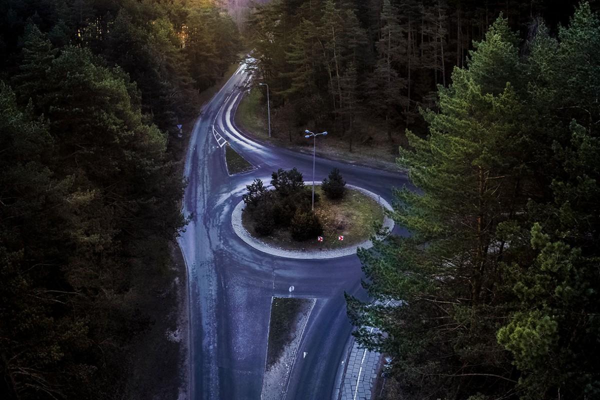 Sauletekis roundabout