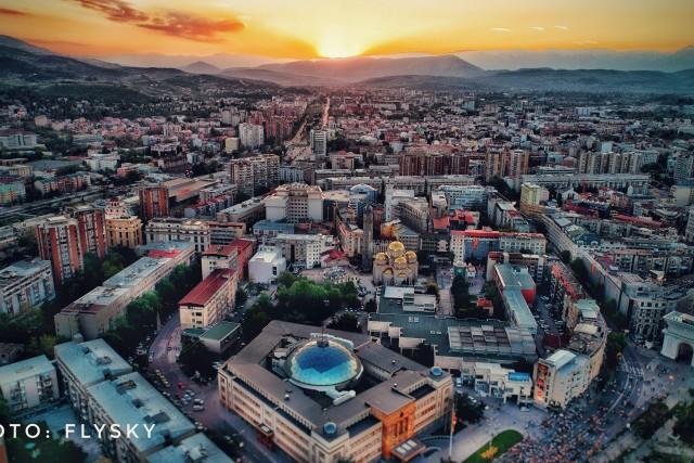 Urban City, Skopje, Macedonia