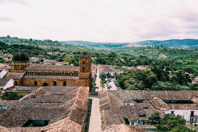 Colonial Barichara, Colombia