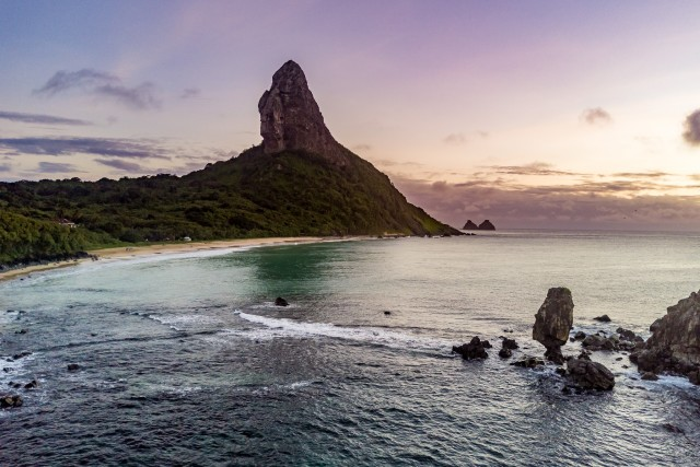 Sunset at Noronha