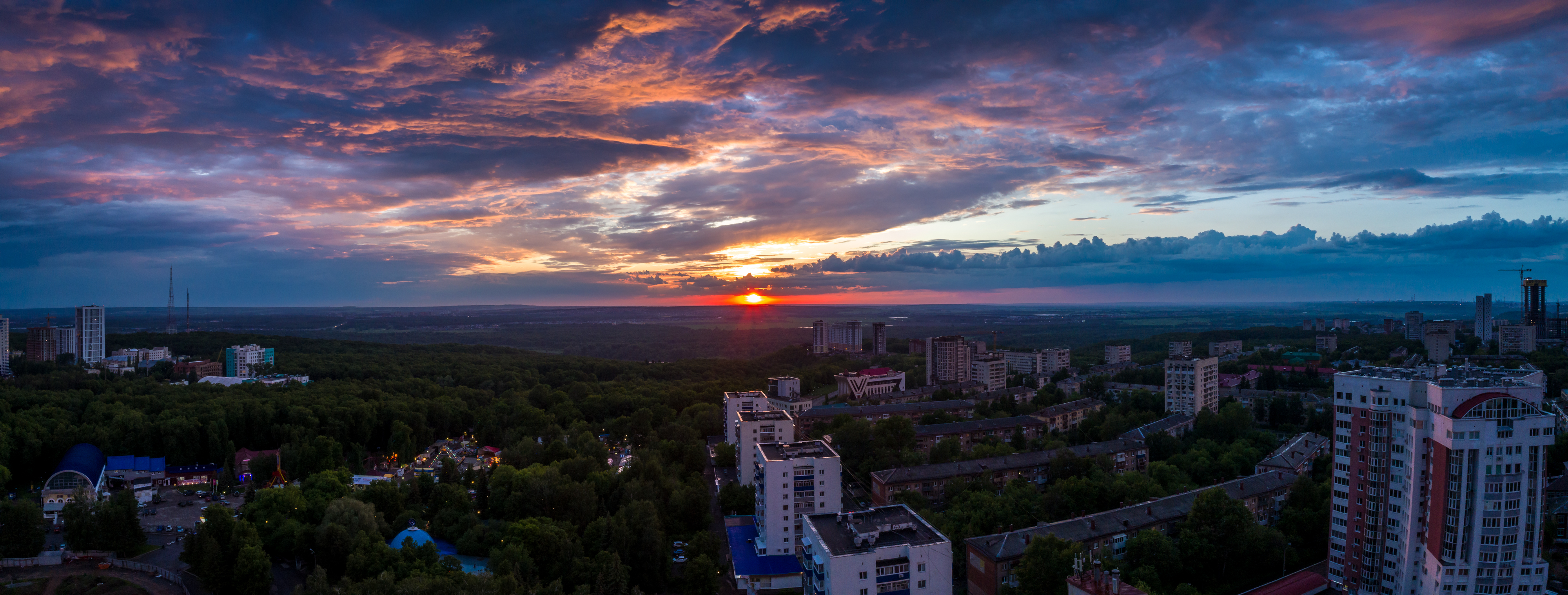 Sunset in Ufa