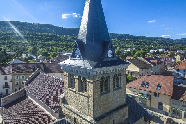 L'Eglise de Saint-Lupicin