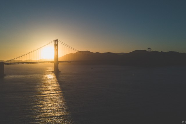 Golden Hour at The Golden Gate