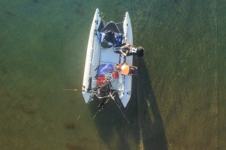 Getting packed up for a fish