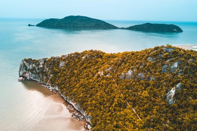 Ocean View – Cliffs Over Hua Hin – Thailand
