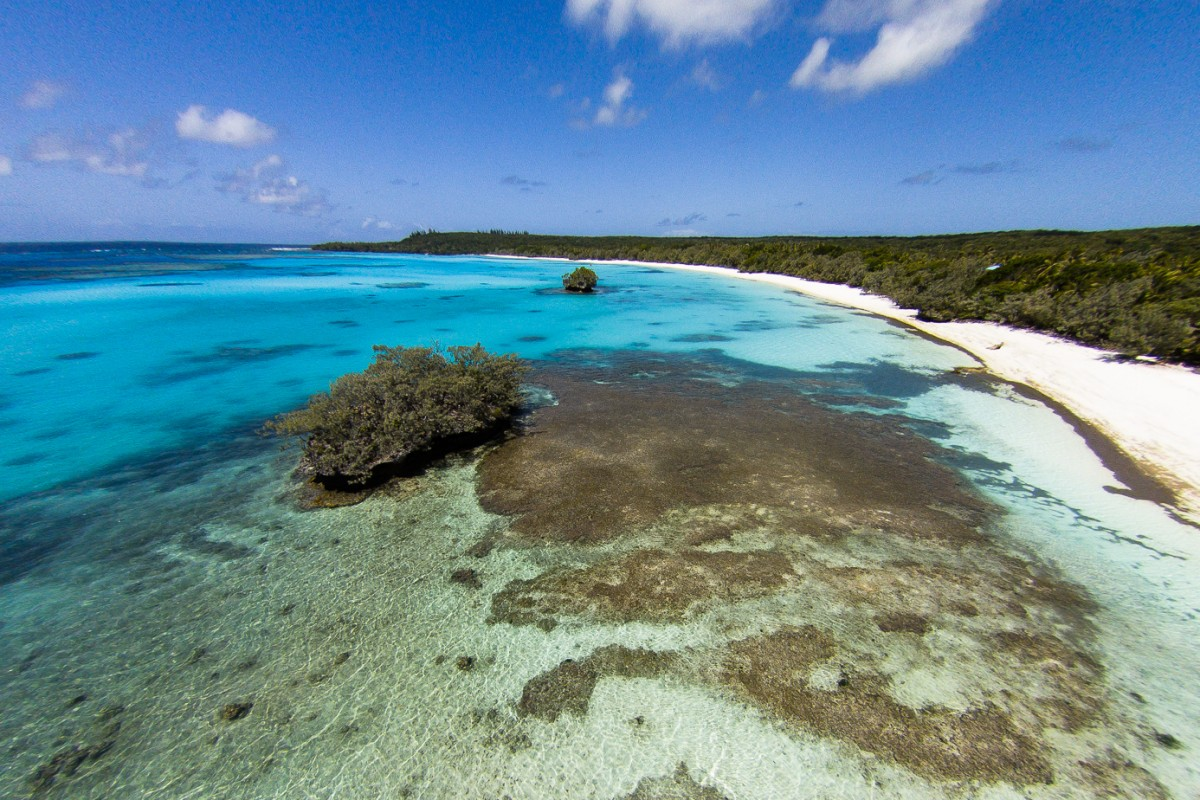 Luengöni beach, Lifou, New Caledonia