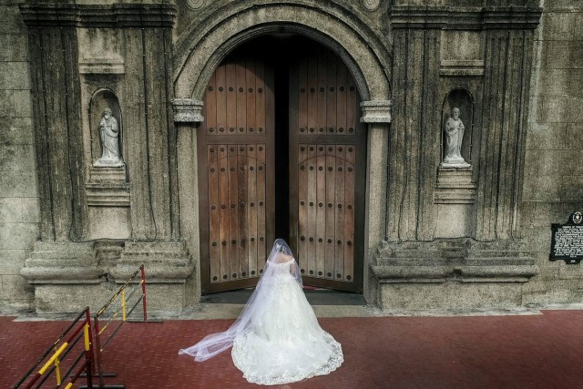 Bridal Entrance at St. Andrews Church