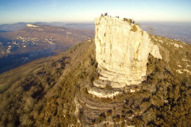 La roche visitée