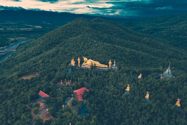 Lying Down Buddha – Chom Tong – Thailand
