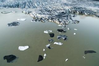Crumbled ice