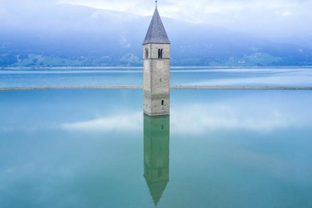 Chapel on the lake