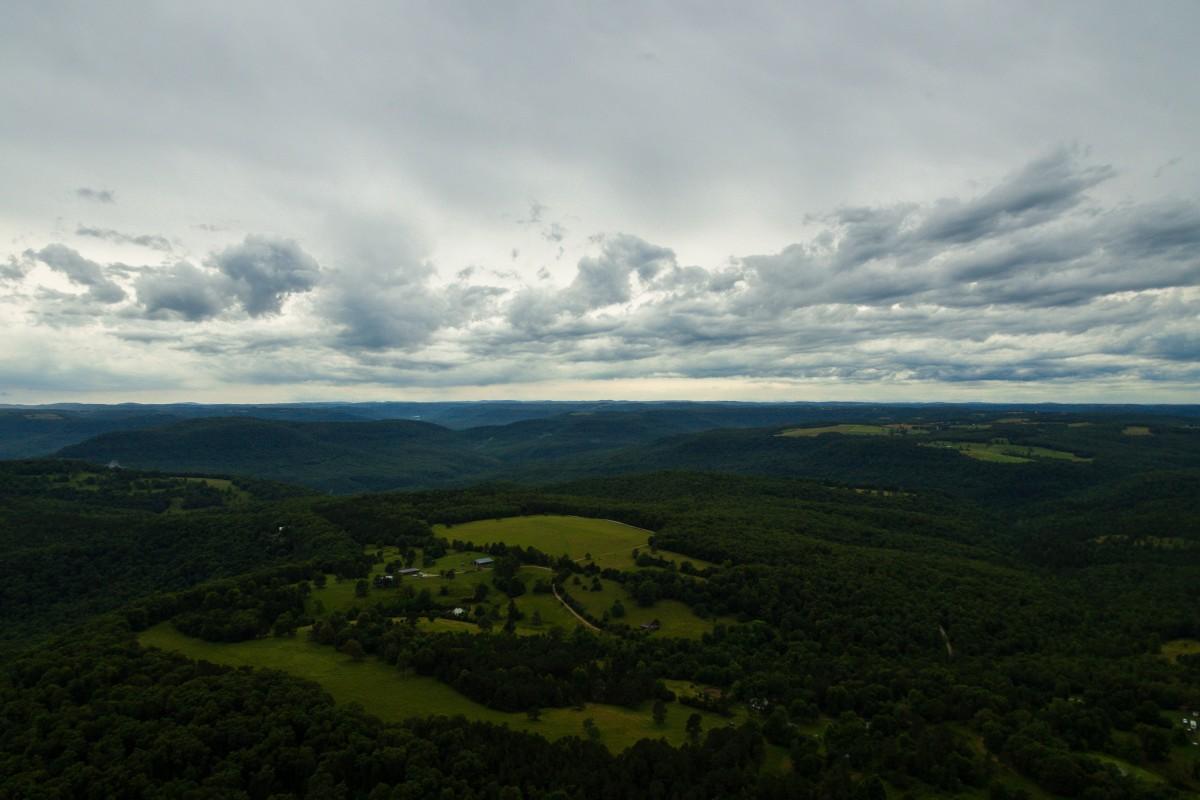 Ozark Hills just after the rain