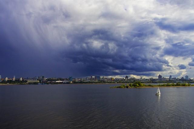 Volga river, Samara