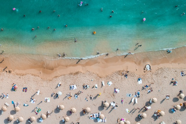 Waikiki Beach, Honolulu, Hawaii, USA