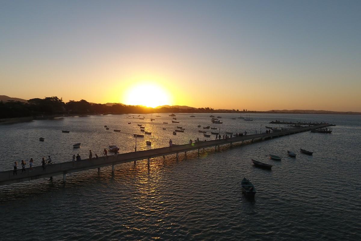Búzios city pier, Armação dos Búzios, Brazil
