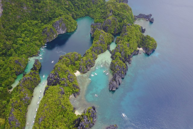 Small Lagoon & Big Lagoon, El Nido, Phillipines.