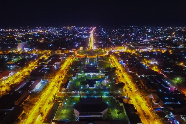 Palangka Raya City at night