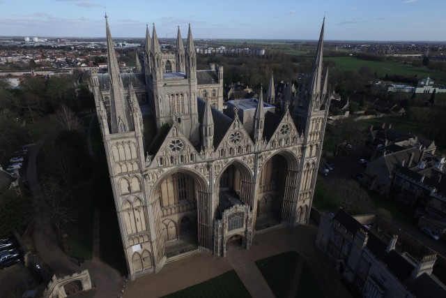 The heart of Peterborough