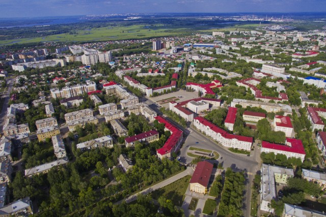 Novokuybyshevsk, Russia