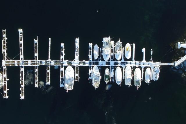 Fishing port in Lofoten