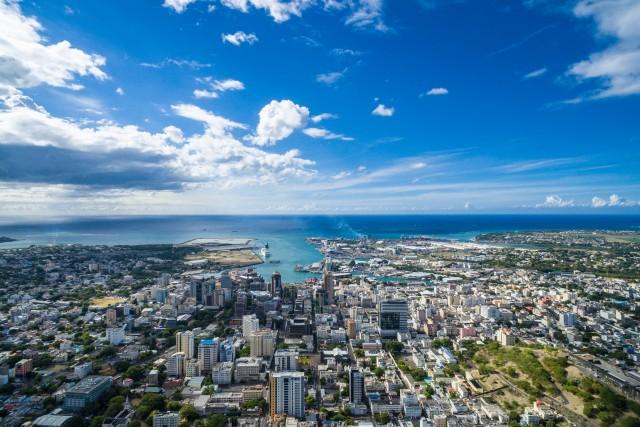 Port Louis harbour view