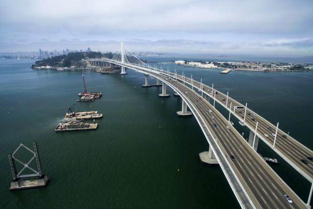 Taking down the old Bay Bridge