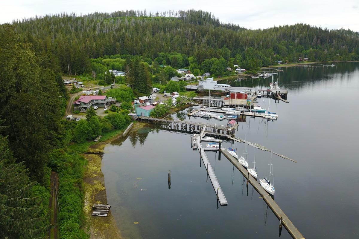 Van Isle 360 Race Boats visiting Winter Harbor BC