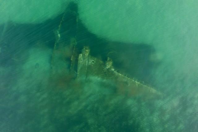 Epave d'un Junker 90 en Corse