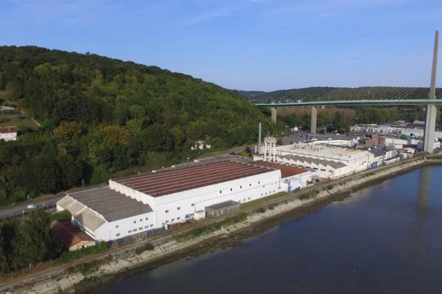 REVIMA aerospace industrial plant, Caudebec en Caux, Normandie, France