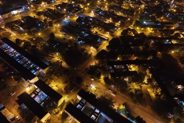 Mi barrio de noche