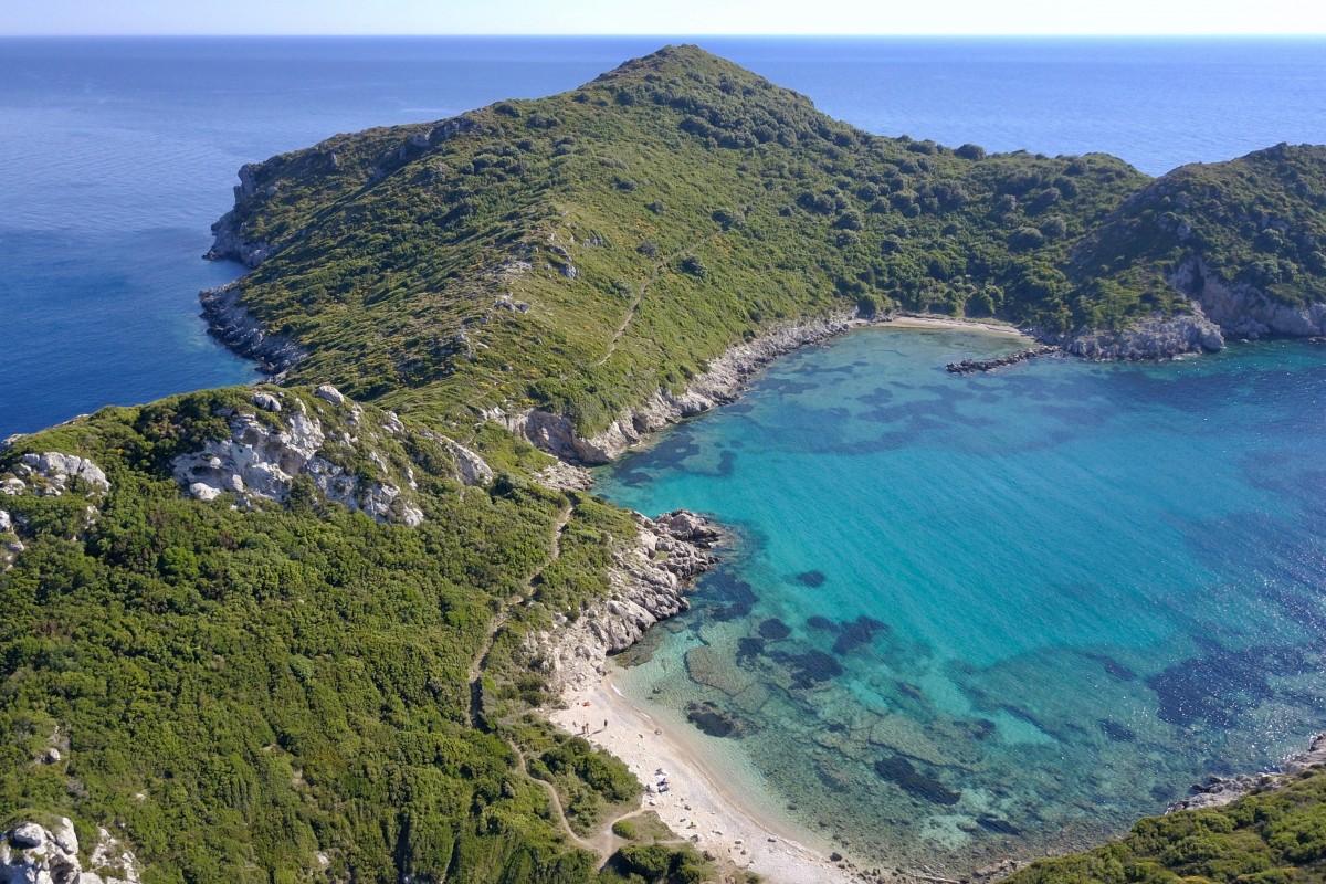 Corfu • Porto Timoni Beach