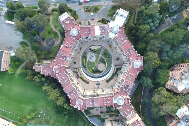 Hexagonal Building