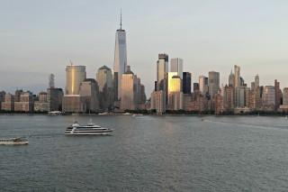 NYC SKYLINE SUNSET!